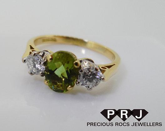 18ct Gold Zultanite Ring