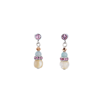 Gemstones & Mother-of-pearl & swarovski Crystals