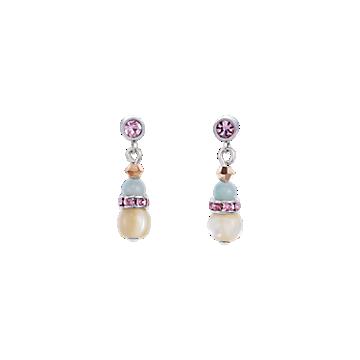 Gemstones & Mother-of-pearl & swarovski Crystals
