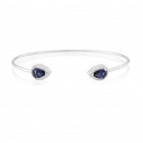 Waterford Jewellery Silver Bangle