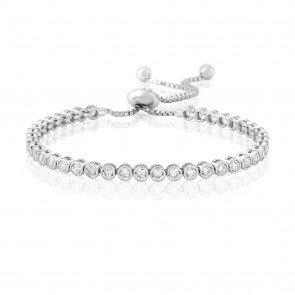 Waterford Jewelley Silver Tennis Bracelet