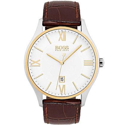 Hugo Boss Governer Men's Leather Watch