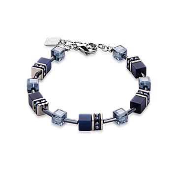 Geo Cube Bracelet Navy