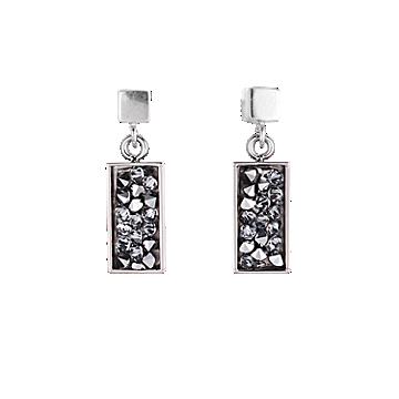 Black Swaroski Earrings