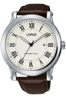 Brown Leather Strap Lorus Watch
