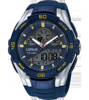 Blue Silicon Digital Sports Watch
