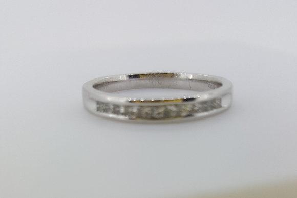 9ct White Gold Thin Wedding Ring