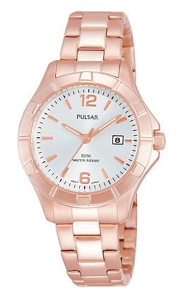 Rose Gold Pulsar Watch