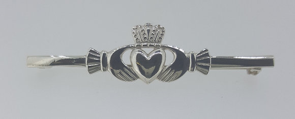 Sterling Silver Cladagh Brooch