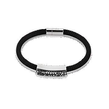 Black Mesh Swaroski Bracelet