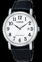 Black Leather Strap Lorus Watch