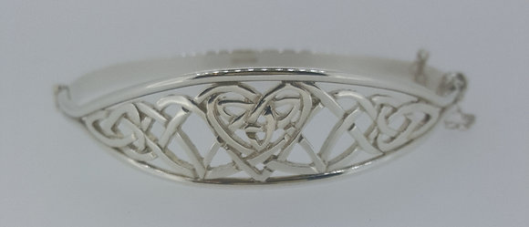 Sterling Silver Celtic Bangle