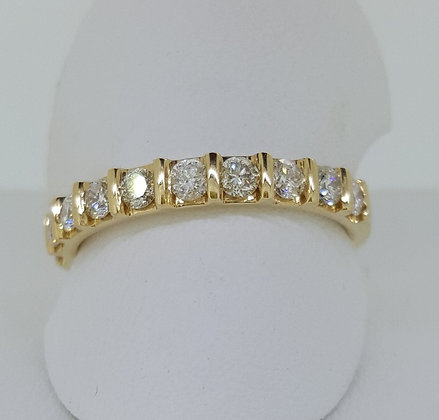 18ct Yellow Gold Engagement Band