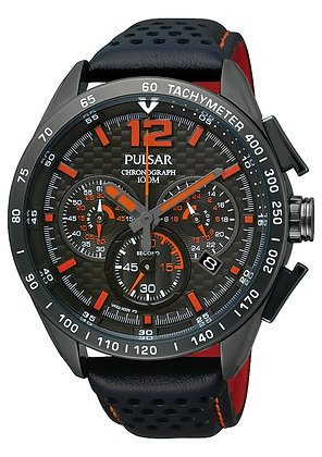 Black Pulsar Watch From WRC Collection