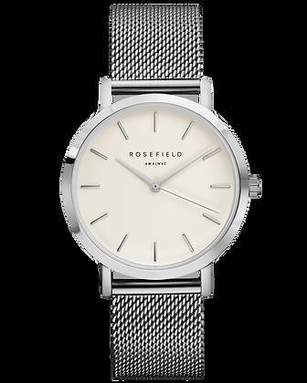 Silver Mercer Rosefield Watch