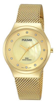 Gold Plated Pulsar Watch