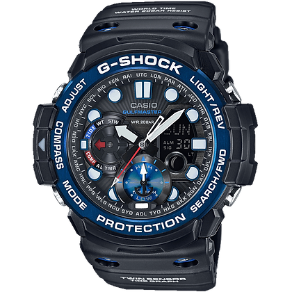 Black and Blue G-Shock Sea Watch