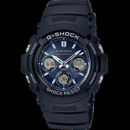 Navy G-Shock Casio Watch