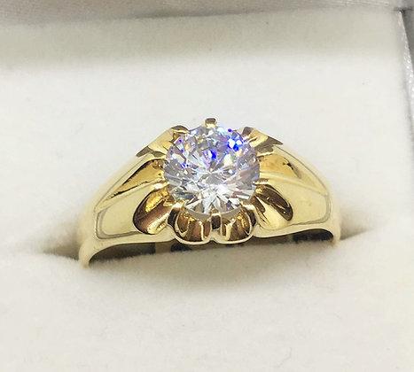 9ct Yellow Gold Men's Ring