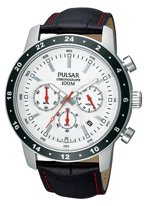 Black Pulsar Sports Watch