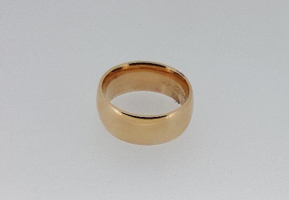 14ct Rose Gold Wedding Band