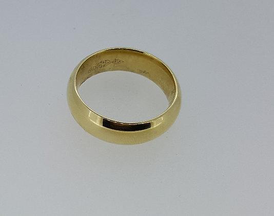 14ct Yellow Gold Wedding Band