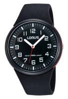 Black Silicone Strap Lorus Watch