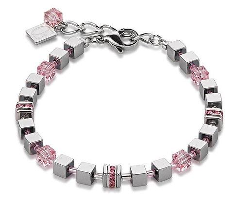 Ceour De Lion Pave Rose Bracelet