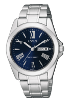 Silver with Blue Dial Lorus Watch