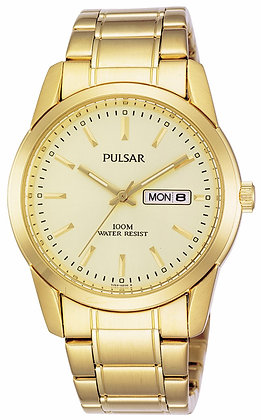 Gold Pulsar Watch