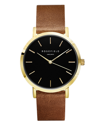 Brown Gramercy Rosefield Watch