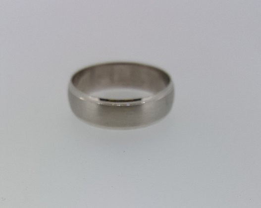 14ct White Gold Wedding Band