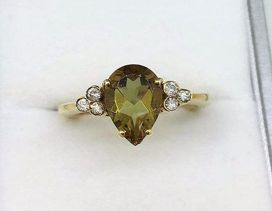 9ct Yellow Gold Zultanite Ring