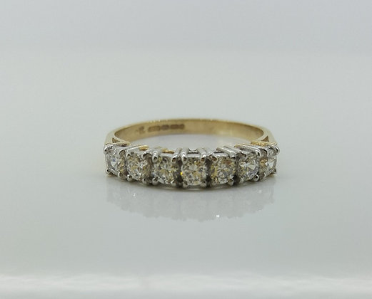 9ct Gold Engagement Band