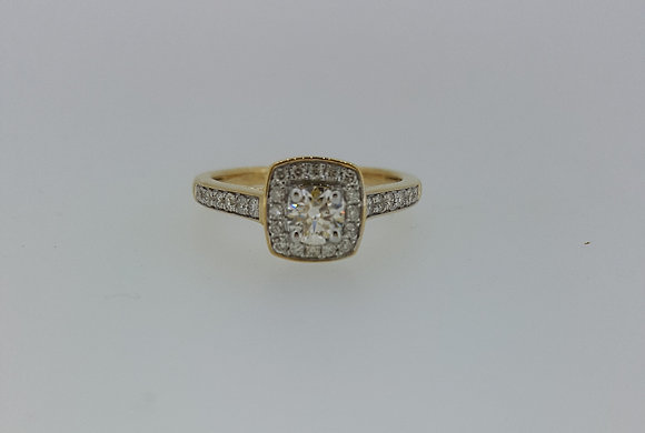 18ct Gold Engagement Ring
