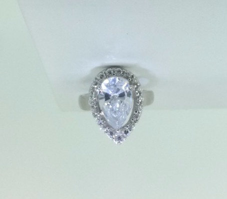 Swarovski Pearl Shaped Ring