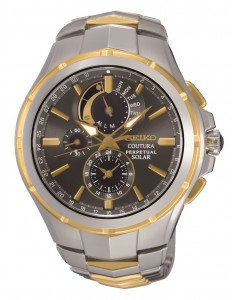Stainless Steel with Gold Detail Coutura Watch