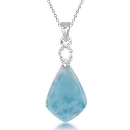 Royal Larimar Necklace