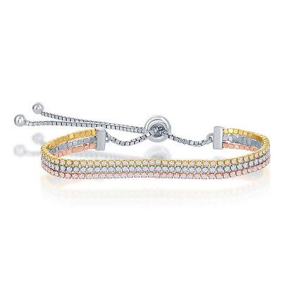 Tri-Color Adjustable Bracelet