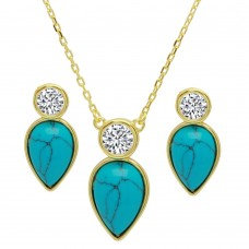 New Mexico Turquoise Set
