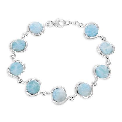 Larimar Swirl Bracelet