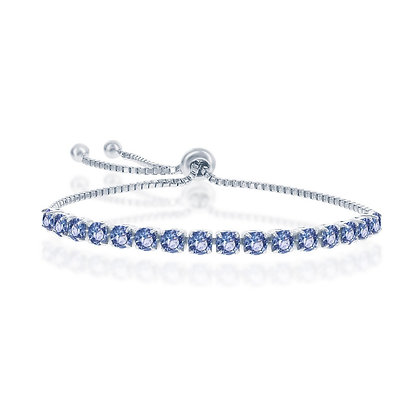 Tanzanite Adjustable Bracelet