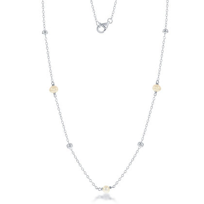 "36"" Fresh Water Pearl Long Necklace"