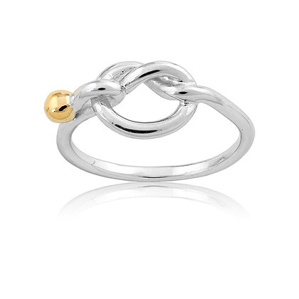 2-Toe Knot Ring