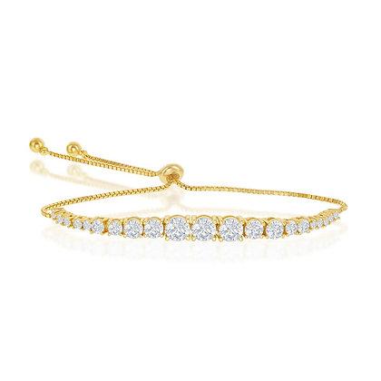 Yellow Graduated Bracelet