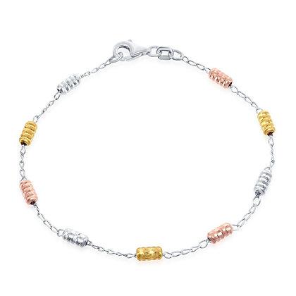 Tri- Color Rod Bracelet