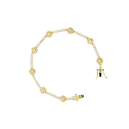 Tennis Bracelet with Micro Pace Sphere