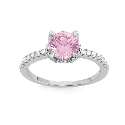 Pink Sapphire Ring, Small.