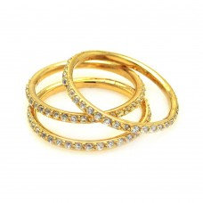 Stacker Rings- White or Yellow