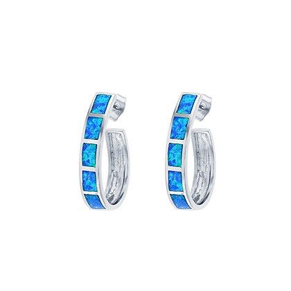 Large Opal Earrings